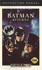 Batman Returns - Manual | Batman Returns Sega CD