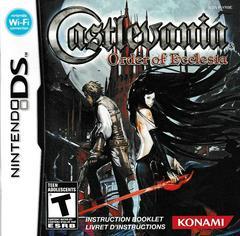 Manual - Front | Castlevania Order of Ecclesia Nintendo DS