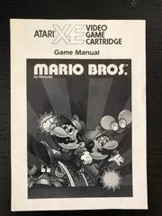 Manual | Mario Bros. Atari 400