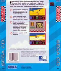 Racing Aces - Back | Racing Aces Sega CD
