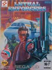 Lethal Enforcers - Front | Lethal Enforcers Sega CD