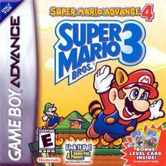 Front Cover | Super Mario Advance 4 GameBoy Advance