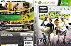 Artwork - Back, Front   Kinect Sports Xbox 360