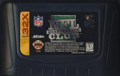 NFL Quarterback Club - Cartridge | NFL Quarterback Club Sega 32X