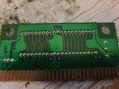 Circuit Board (Reverse) | ToeJam and Earl Sega Genesis