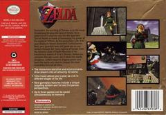 Back Cover | Zelda Ocarina of Time [Collector's Edition] Nintendo 64