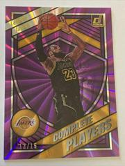 LeBron James [Purple Laser] Basketball Cards 2020 Donruss Complete Players Prices