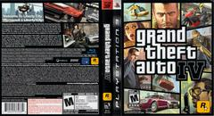 Slip Cover Scan By Canadian Brick Cafe   Grand Theft Auto IV Playstation 3