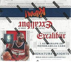 Retail Box Basketball Cards 2016 Panini Excalibur Prices