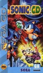 Sonic CD - Front / Manual | Sonic CD Sega CD