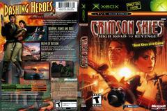 Full Cover   Crimson Skies Xbox