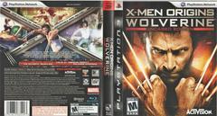 Artwork - Back, Front   X-Men Origins: Wolverine Playstation 3