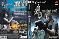 Slip Cover Scan By Canadian Brick Cafe   Resident Evil 4 Playstation 2