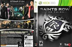 Artwork - Back, Front | Saints Row: The Third Xbox 360