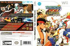 Artwork - Back, Front   Tatsunoko vs. Capcom: Ultimate All Stars Wii