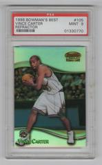 Vince Carter [Refractor] Basketball Cards 1998 Bowman's Best Prices