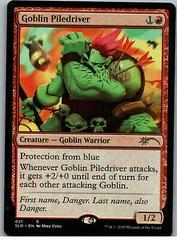 Goblin Piledriver Magic Secret Lair Drop Series Prices
