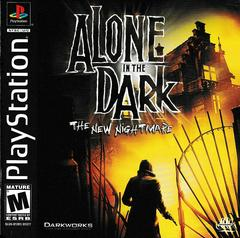 Manual - Front | Alone In The Dark The New Nightmare Playstation