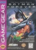 Batman Forever - Front | Batman Forever Sega Game Gear