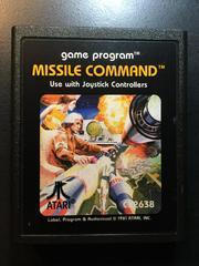 Cartridge | Missile Command Atari 2600