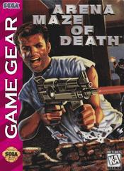Arena Maze Of Death - Front | Arena Maze of Death Sega Game Gear