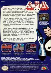 Back Cover | The Punisher NES