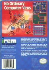 Metal Storm - Back   Metal Storm NES