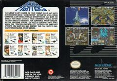 Aero Fighters - Back   Aero Fighters Super Nintendo
