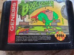 Cartridge (Front)   Boogerman A Pick and Flick Adventure Sega Genesis