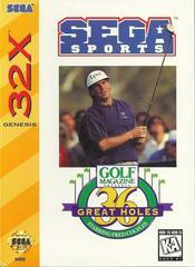 Golf Magazine Presents - Front   Golf Magazine Presents 36 Great Holes Starring Fred Couples Sega 32X