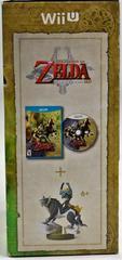 Side Of Box | Zelda Twilight Princess HD [amiibo Bundle] Wii U