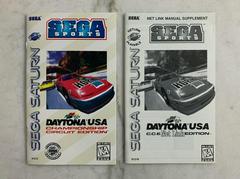 Front Of Manuals | Daytona USA Championship [Net Link Edition] Sega Saturn