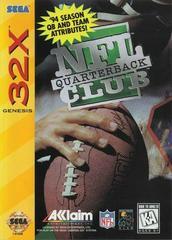 NFL Quarterback Club - Front | NFL Quarterback Club Sega 32X
