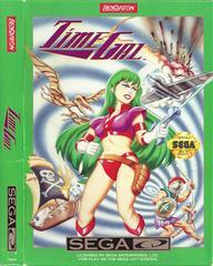 Time Gal - Front  / Manual | Time Gal Sega CD