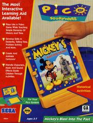 Mickey's Blast into the Past Sega Pico Prices