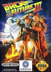 Back To The Future III - Front   Back to the Future III Sega Genesis