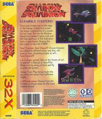 Shadow Squadron - Back | Shadow Squadron Sega 32X