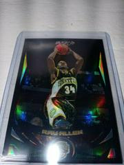 Ray Allen [Black Refractor] Basketball Cards 2004 Topps Chrome Prices