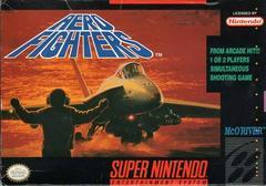 Aero Fighters - Front   Aero Fighters Super Nintendo