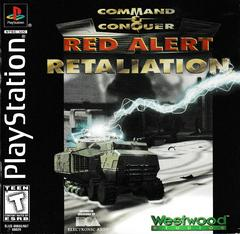 Manual - Front   Command and Conquer Red Alert Retaliation Playstation