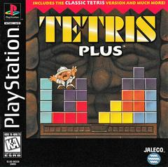 Manual - Front | Tetris Plus Playstation
