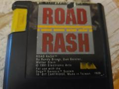 Cartridge (Front) | Road Rash Sega Genesis