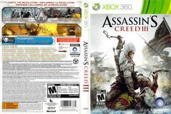 Slip Cover Scan By Canadian Brick Cafe | Assassin's Creed III Xbox 360