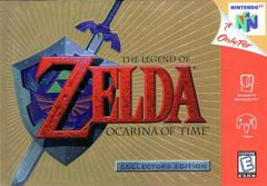 Front Cover | Zelda Ocarina of Time [Collector's Edition] Nintendo 64