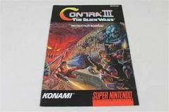 Contra III The Alien Wars - Manual   Contra III The Alien Wars Super Nintendo
