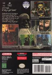 Back Cover | Eternal Darkness Gamecube