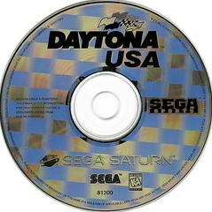Game Disc | Daytona USA Sega Saturn