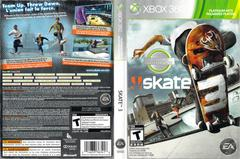 Slip Cover Scan By Canadian Brick Cafe | Skate 3 Xbox 360