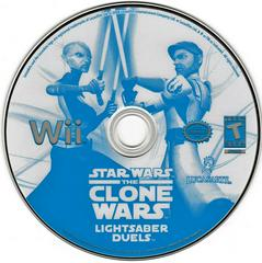 Game Disc | Star Wars Clone Wars Lightsaber Duels Wii