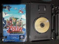 Game Disc Case Open  | Zelda Wind Waker Gamecube